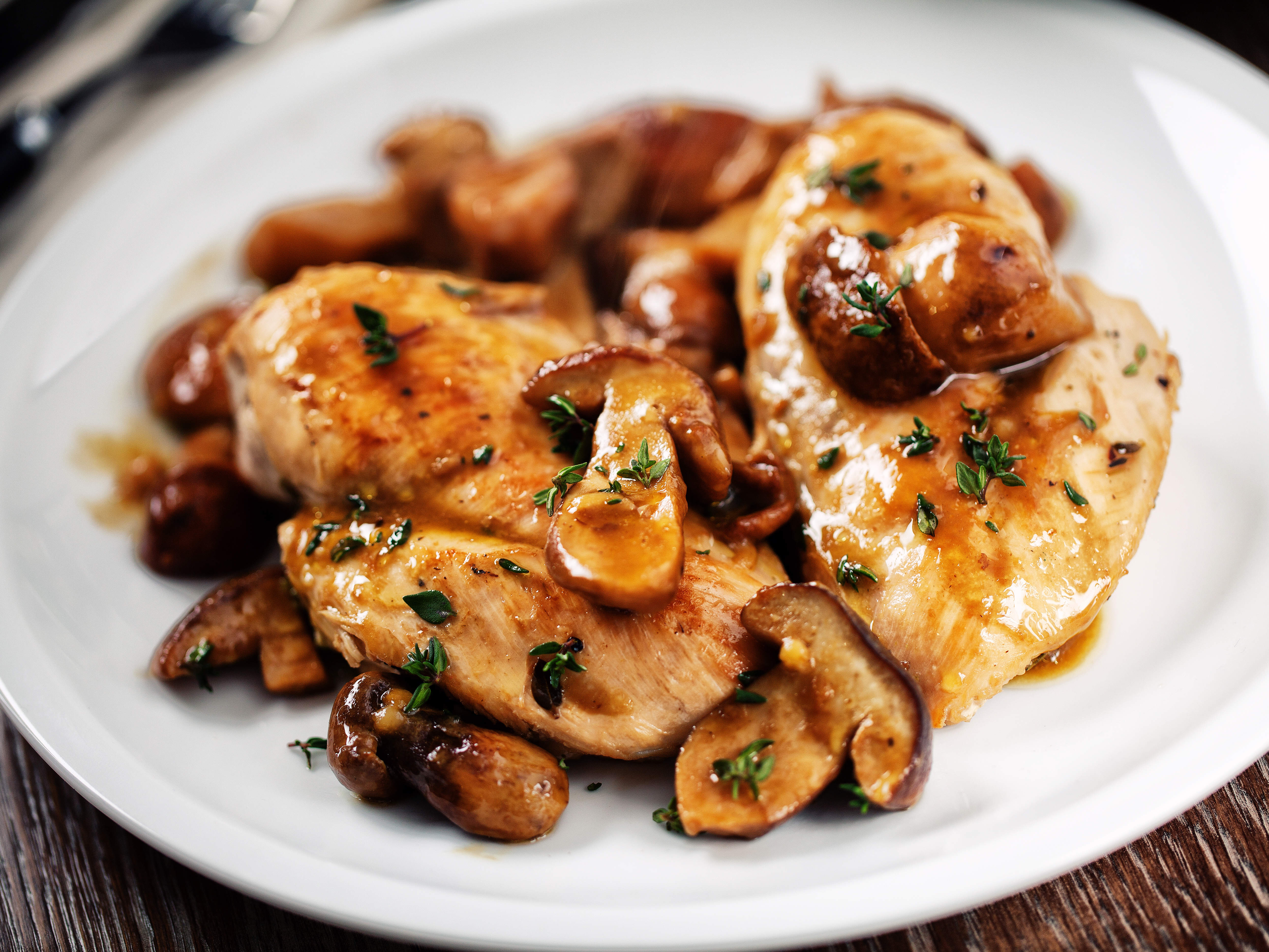 how-to-make-chicken-with-mushroom-sauce-video