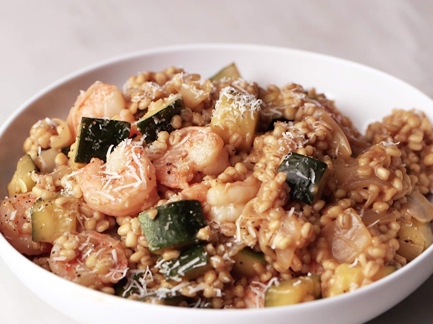 shrimp-and-zucchini-barley-risotto-video