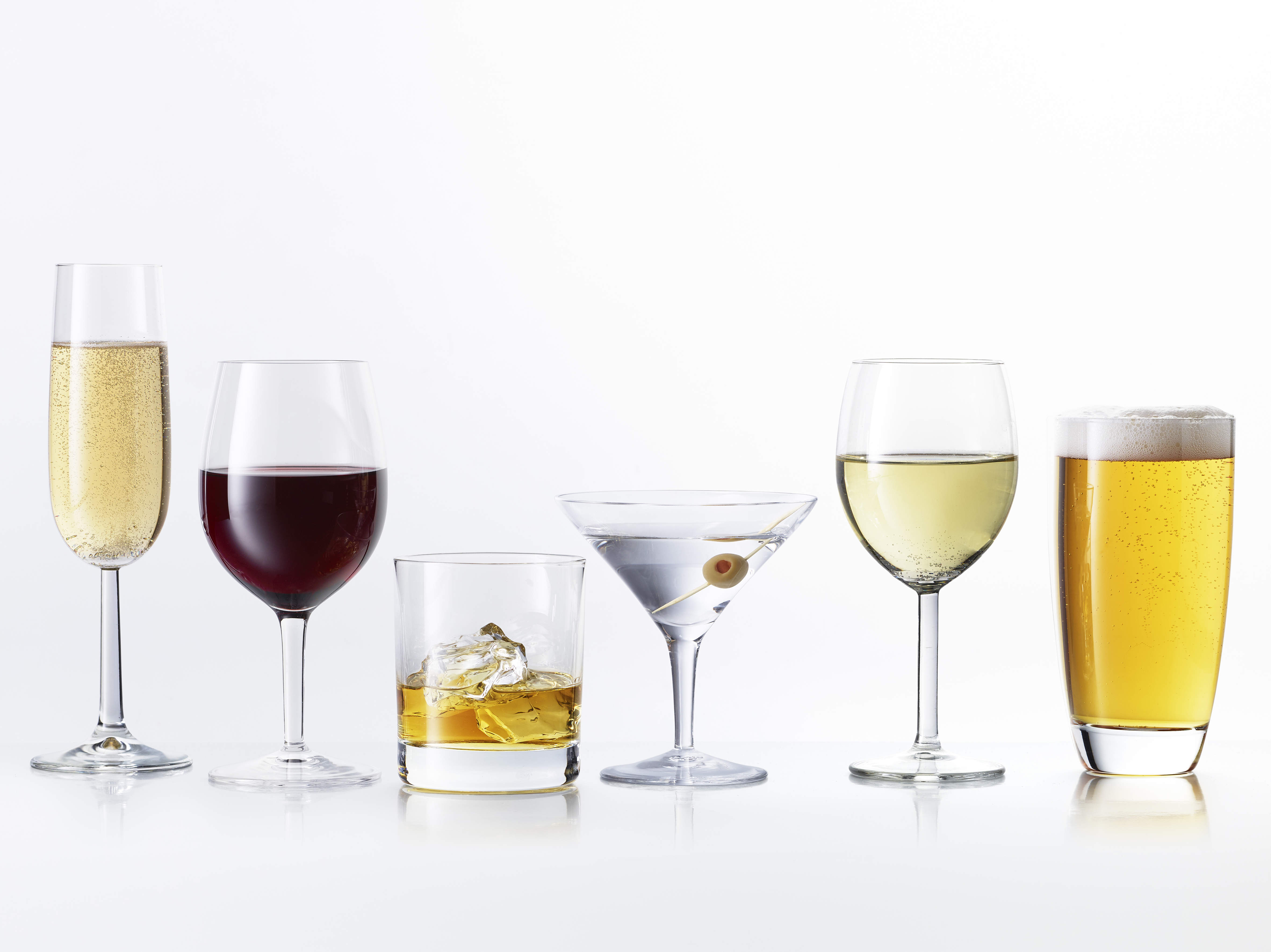 Drinks What's 8 Calorie - Health Alcohol Lowest The Ranked