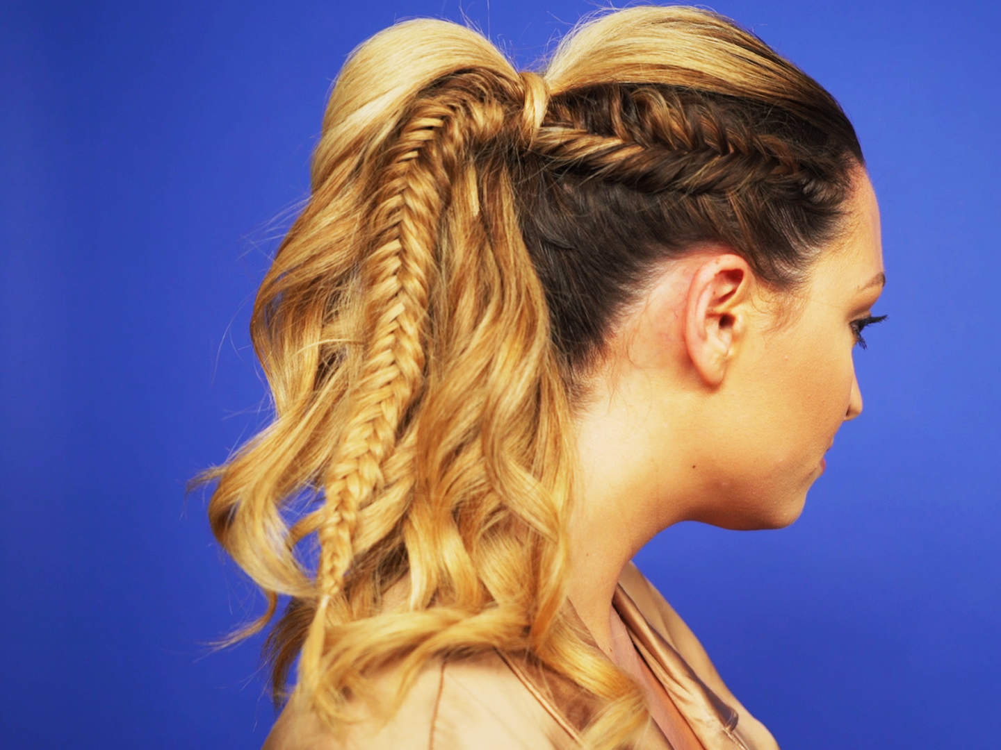 fishtail ponytail-video