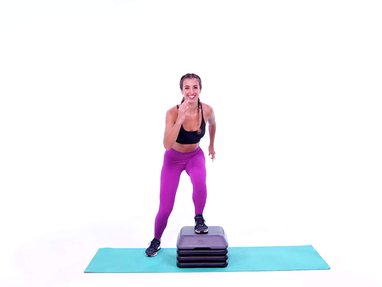 KATIE Step Cardio Workout-video