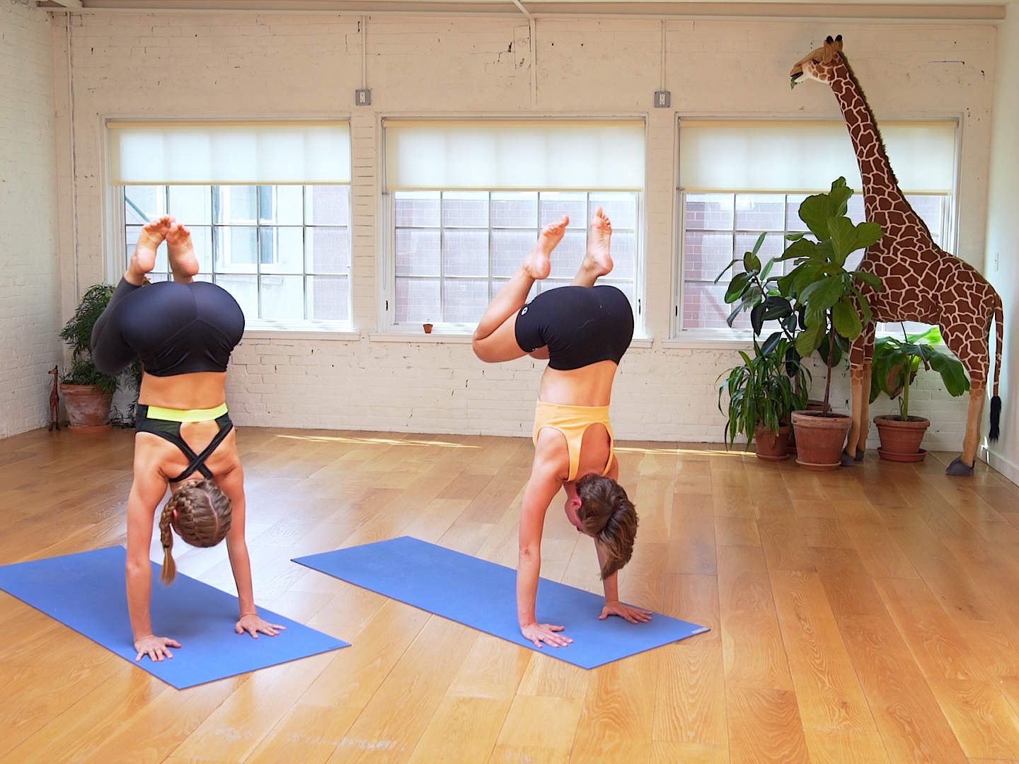 Sky Ting's Cardio Yoga Workout Will Give You The Stretch You Crave With the Sweat You Need