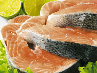 salmon-steaks