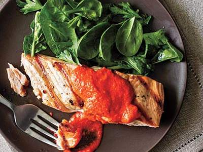 salmon-red-pepper
