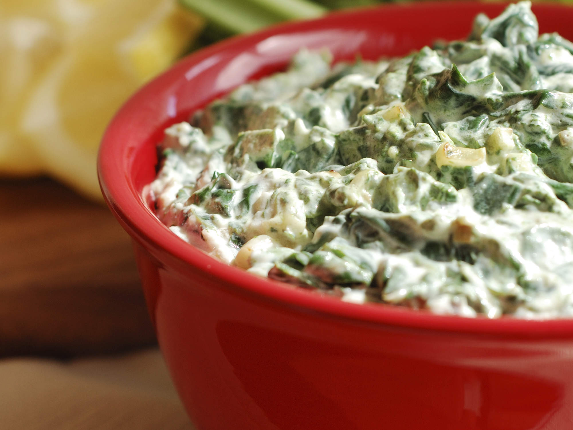 spinach and artichoke dip is unhealthy