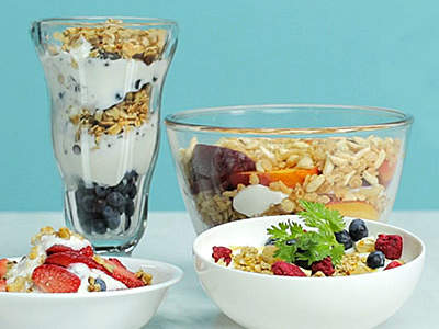 greek-yogurt-four-ways