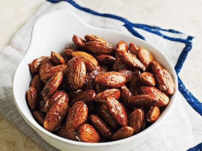 honey-glazed-almonds
