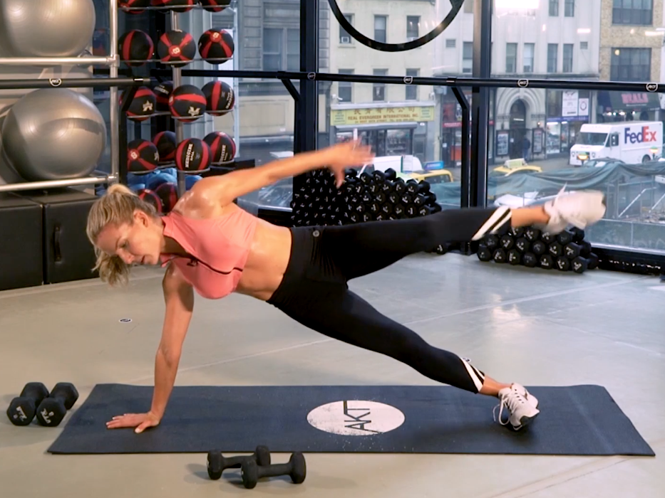 This Physio Ball Workout Gets Anna Kaiser's Celeb Clients ...