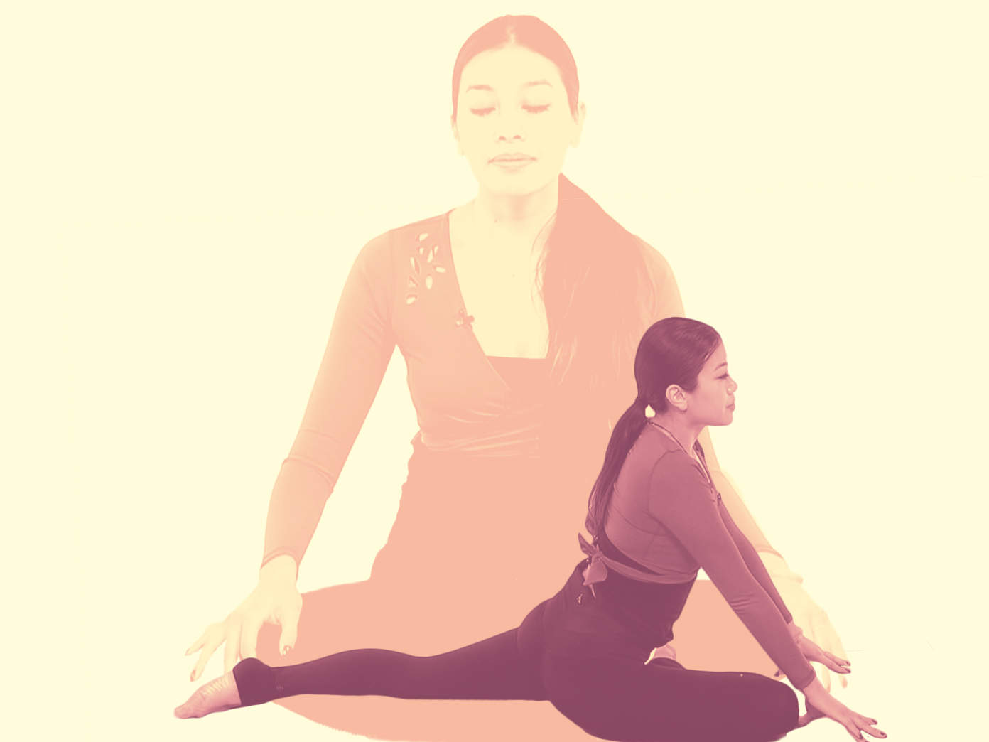 Stressed Out? This Yoga Flow for Beginners Will Help You Let It All Go
