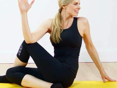 Yoga Poses for Less Stress and Better Sleep