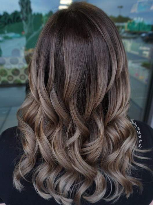 different styles of colouring hair hair color ideas for brunettes health 8123
