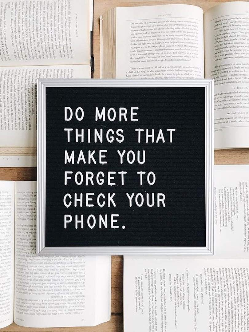 Tend To Check Whou0027s Viewed Your Instagram Story A Few Too Many Times? This  Quote From Debrosse Will Remind You To Look Away From The Screen In Your  Palm.