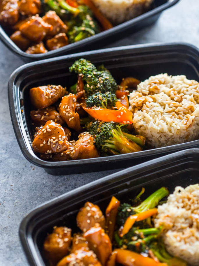 The best meal prep ideas health gimme delicious food crafted this teriyaki chicken and broccoli bowl which takes less than 20 minutes to cook with protein veggies and complex carbs forumfinder Images