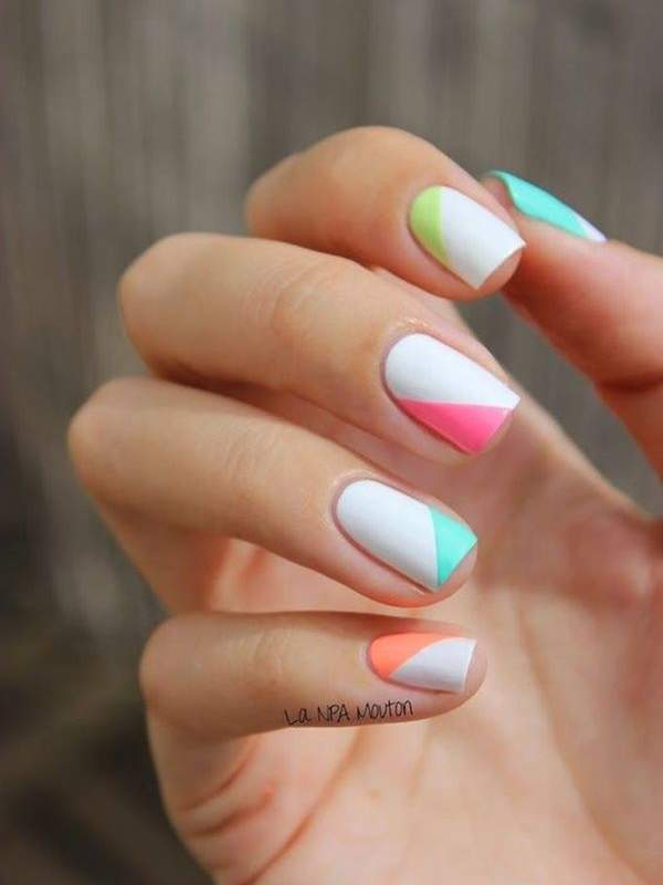 Nails: La NPA Mouton - 11 Spring Nail Designs People Are Loving On Pinterest - Health