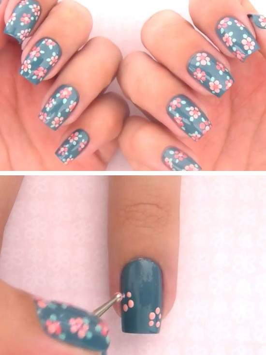 Nails: Cute Polish - 11 Spring Nail Designs People Are Loving On Pinterest - Health