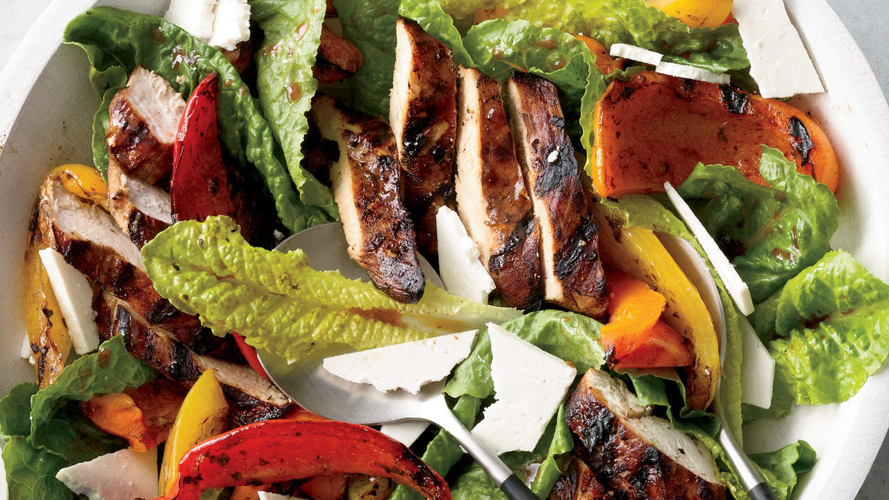 grilled-chicken-paillard-salad