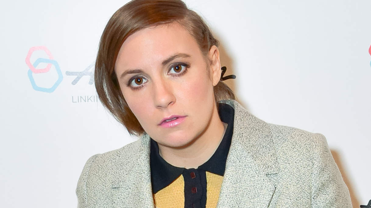 Lena Dunham, on dealing with negative people