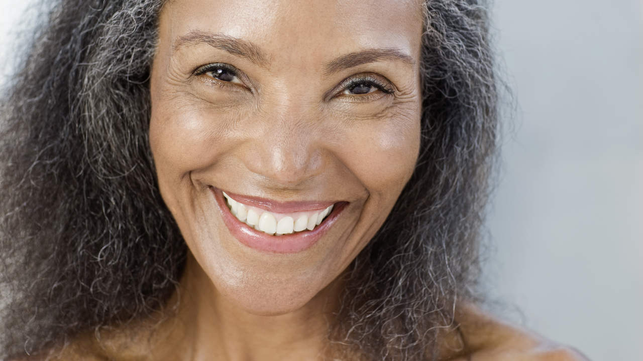 Woman in her 50s nearing menopause