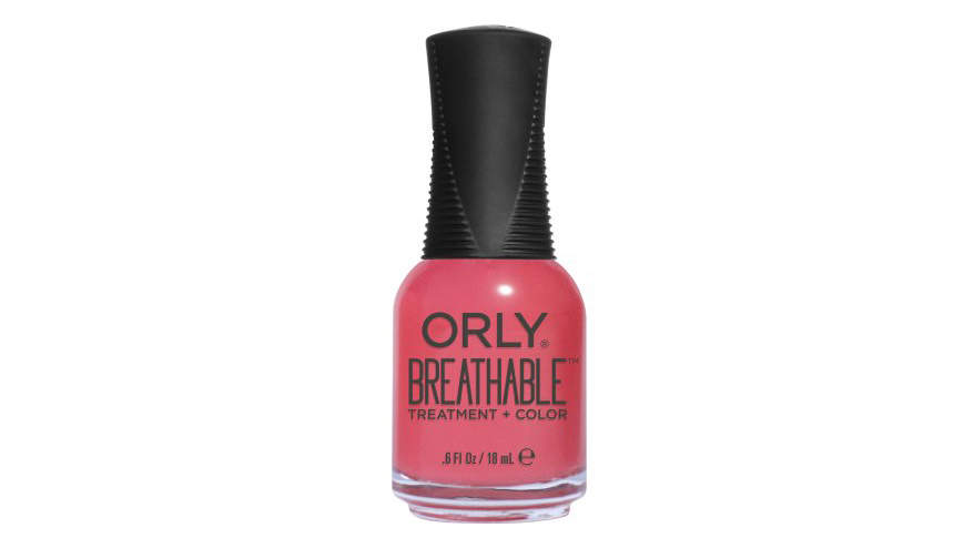 Best Nail Treatment:Orly Breathable Treatment + Color