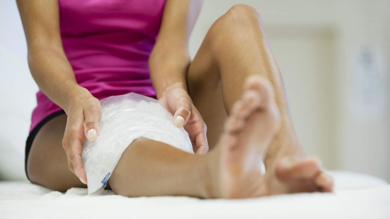 You can manage runner's knee pain at home
