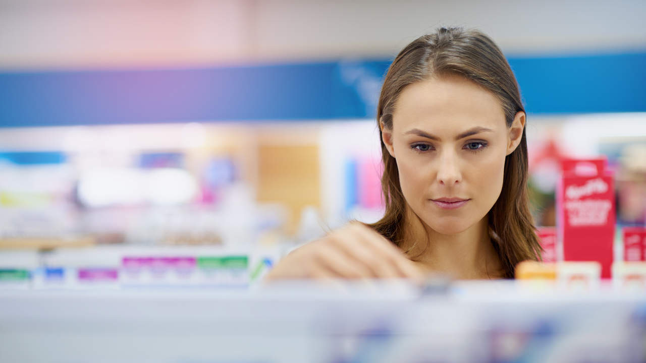 Try over-the-counter medications