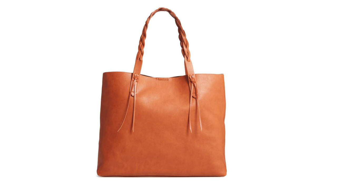 <p>Sole Society Amal Faux Leather Tote</p>