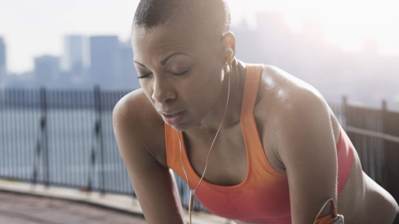 Problems breathing after exercise