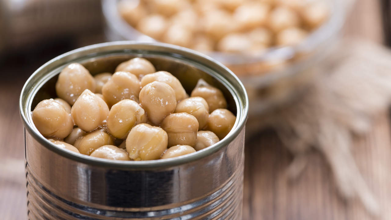 Canned beans meal prep