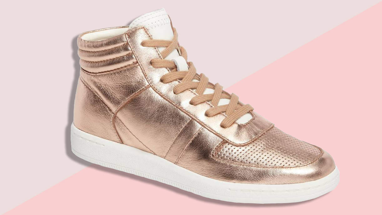 4abcb749d01 Rose Gold Sneakers You Can Wear With Everything