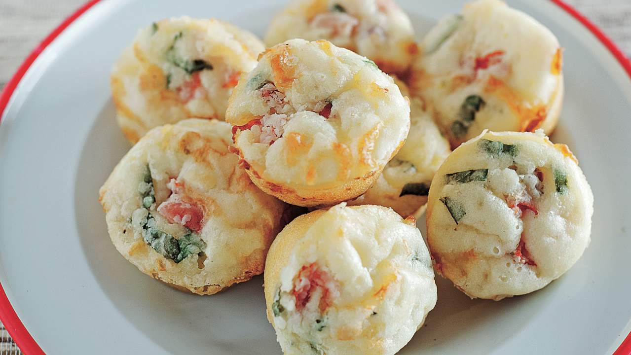 Low-FODMAP pizza muffin recipe