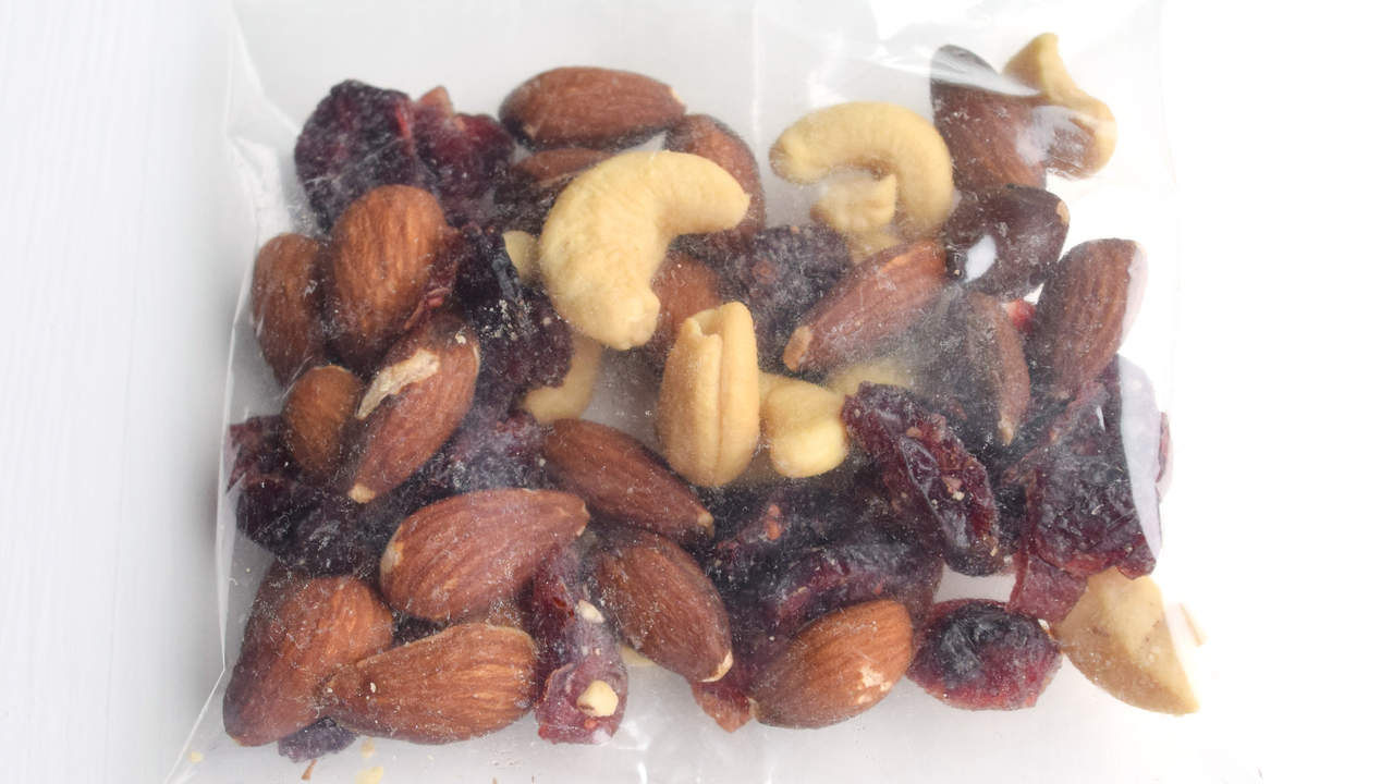 Nuts and seeds trail mix food allergies nut allergies