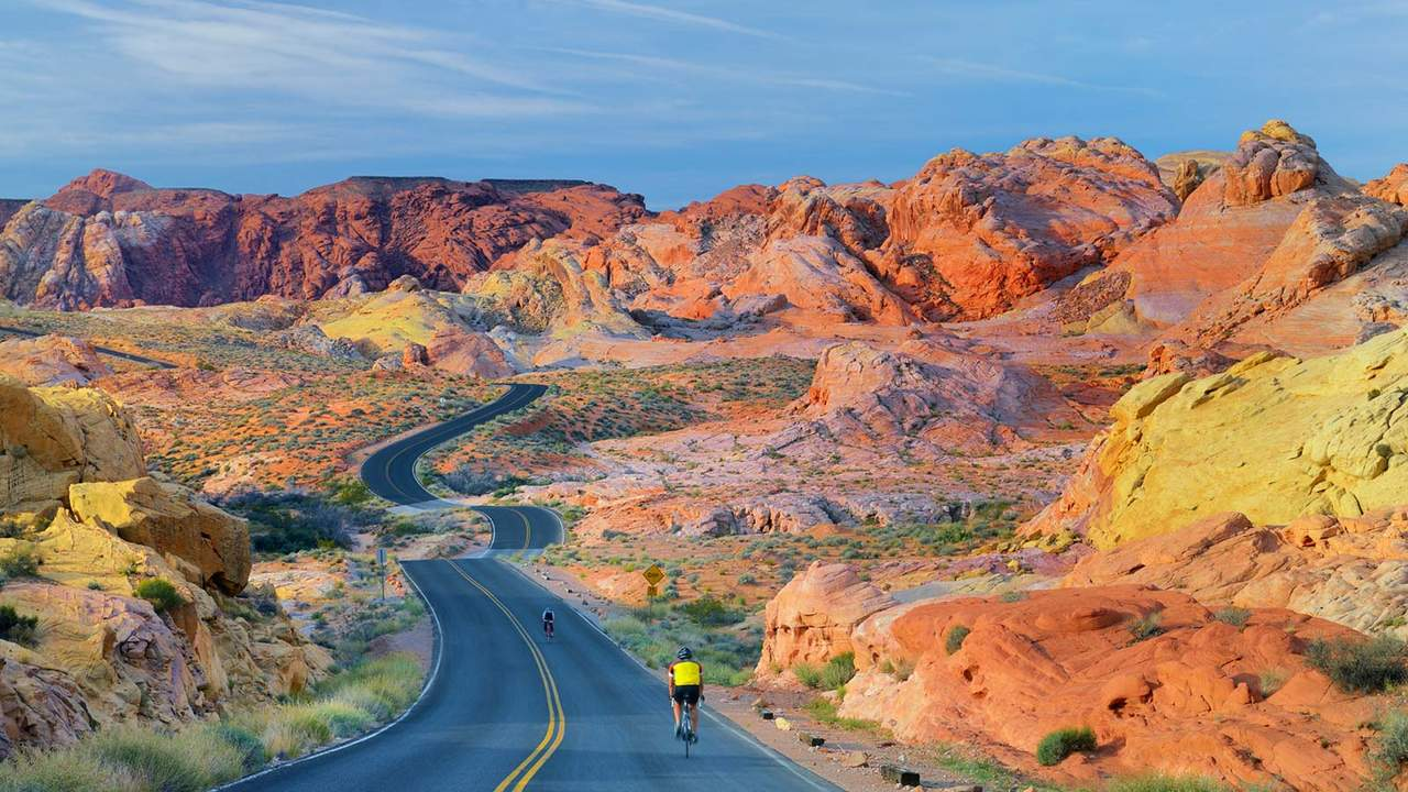 Arch Rock Campground, Valley of Fire State Park, Nevada
