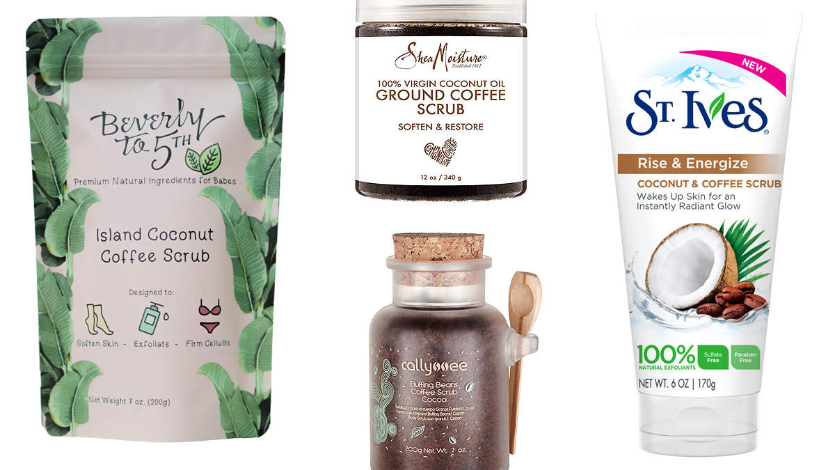 These Coffee Body Scrubs Are the Secret to Crazy-Soft Skin