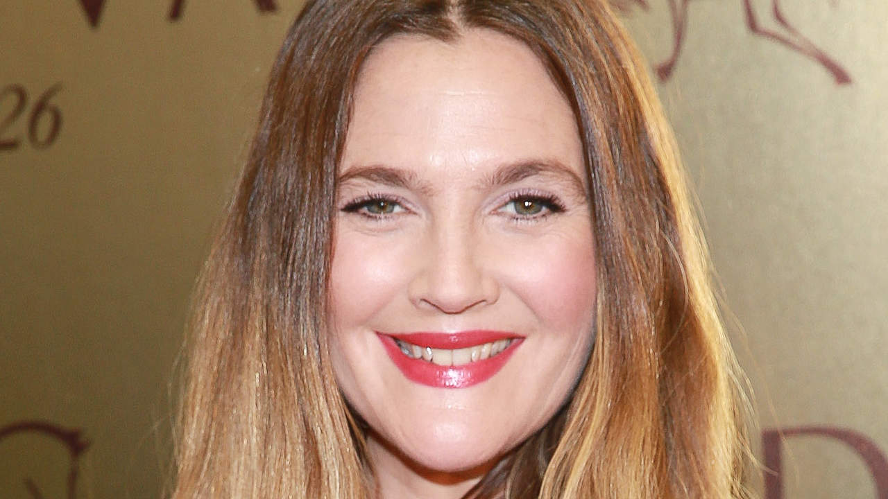 <p>Drew Barrymore's Beauty Secret</p>