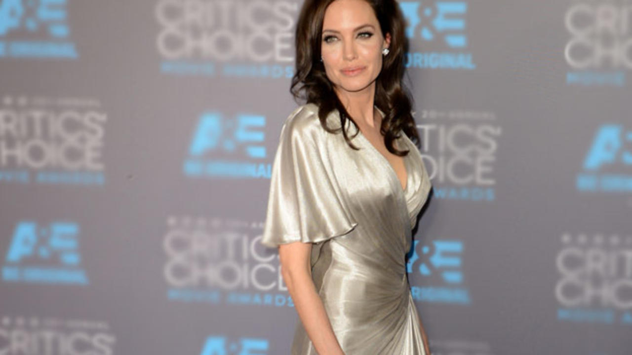 Consider, that Angelina jolie boob size