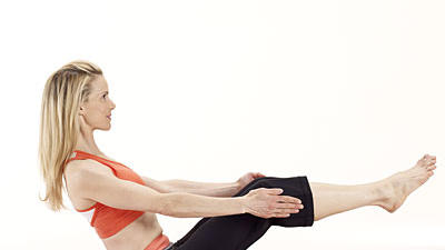 move of the day magic yoga pose for a trim tummy  health
