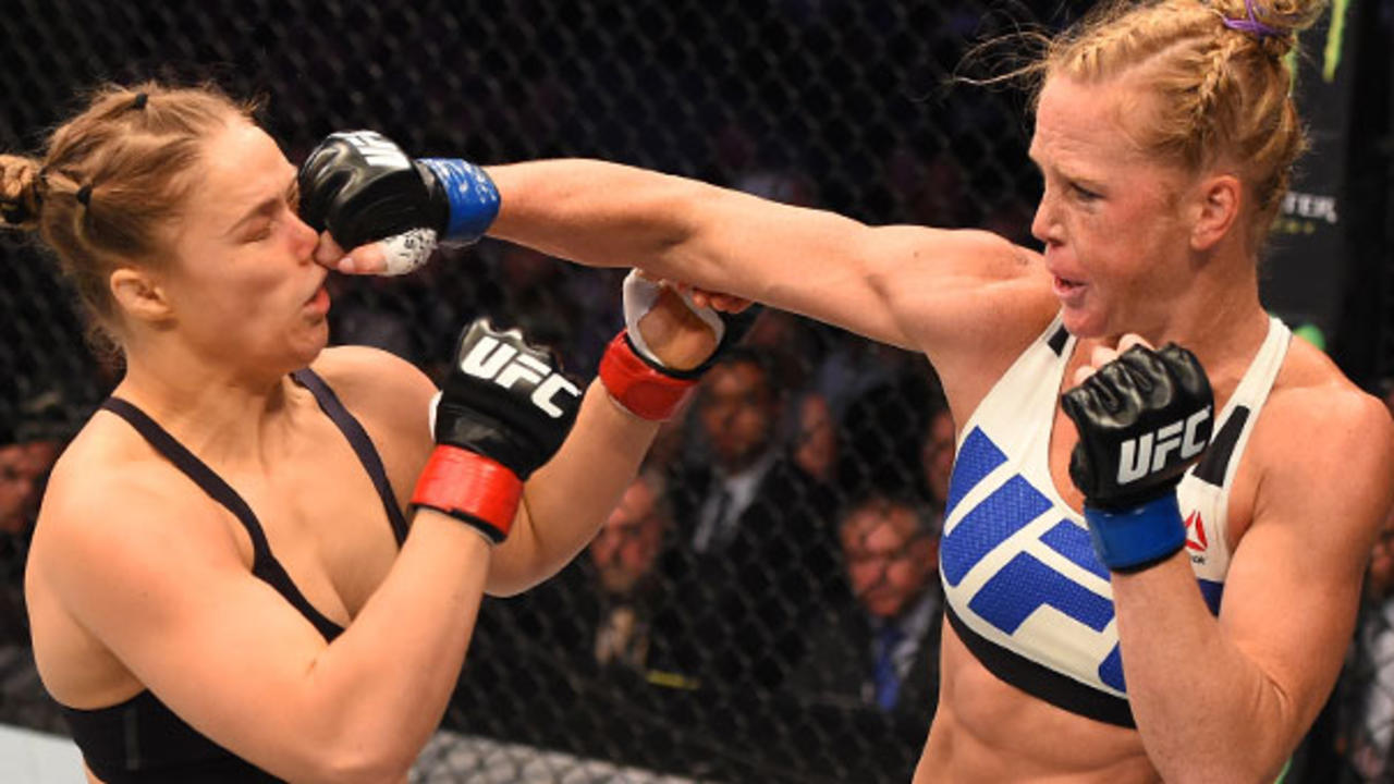 Here's How Hard Ronda Rousey Got Hit—And What It Means for Her Health - Health
