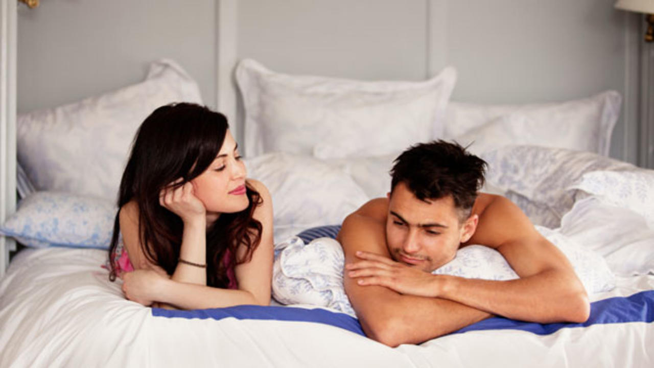 Stomach pain after sexually active male