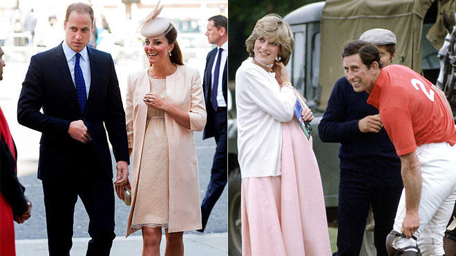 Princess Kate vs. Princess Diana's Maternity Style: How Do They Compare?
