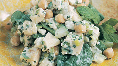 Chicken-Garbanzo Salad