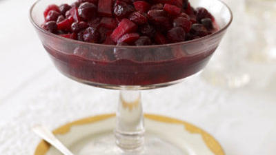 Liven up your cranberries
