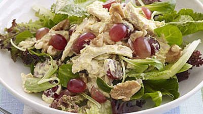Smoked turkey and white bean salad