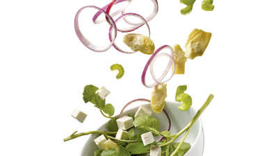 watercress-artichoke-salad