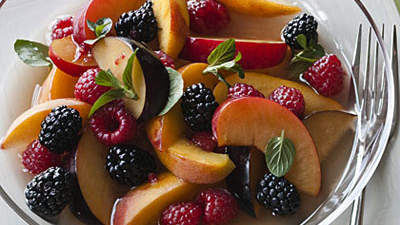 LavenderScented Summer Fruit Salad