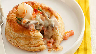 Mini Shrimp Pot Pie