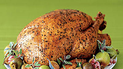 Oregano-Coriander-Rubbed Turkey