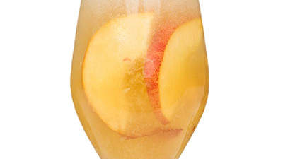 prosecco-peaches