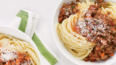 Spaghetti With Quick Meat Sauce