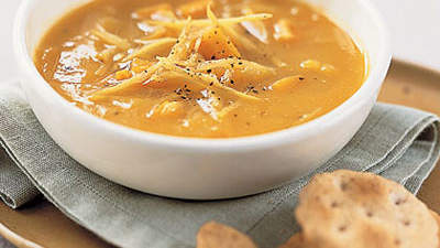 Digestive disorders: Sweet Potato-and-Ginger Soup