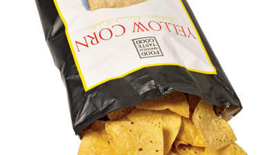 6. Addictive munchie: FoodShouldTasteGood chips